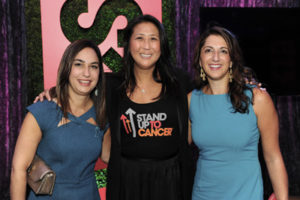 ROBIN COHEN (OVARIAN CANCER NATIONAL ALLIANCE), SUNG POBLETE, CALANEET BALAS (OVARIAN CANCER NATIONAL ALLIANCE)
