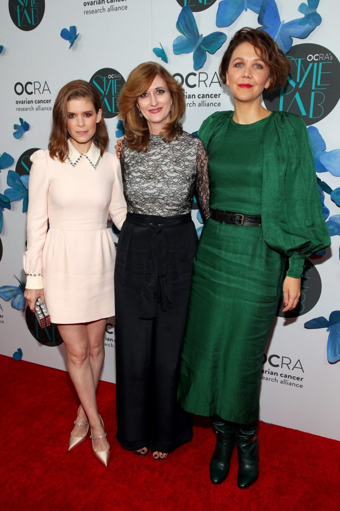 OCRA STYLE LAB hosts Kate Mara and Maggie Gyllenhaal